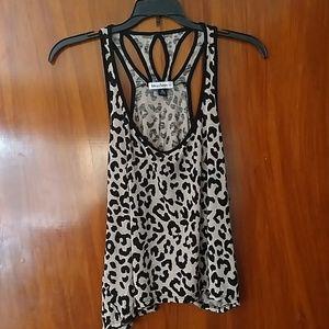 """Love on a Hanger"" leopard print tank"